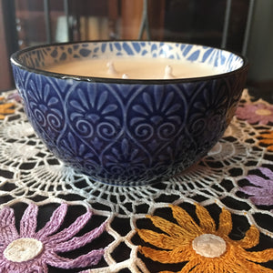 BLUE BOWL - Jamcat Candles