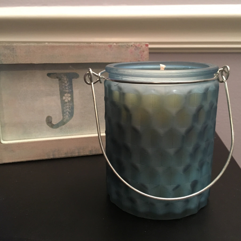 LIGHT BLUE PUFFY HANDLE - Jamcat Candles