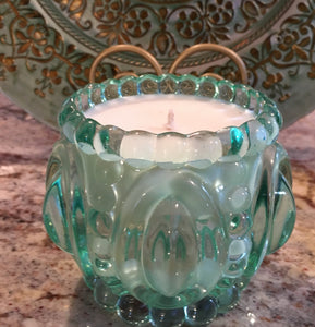 "GREEN ""CRYSTAL"" - Jamcat Candles"