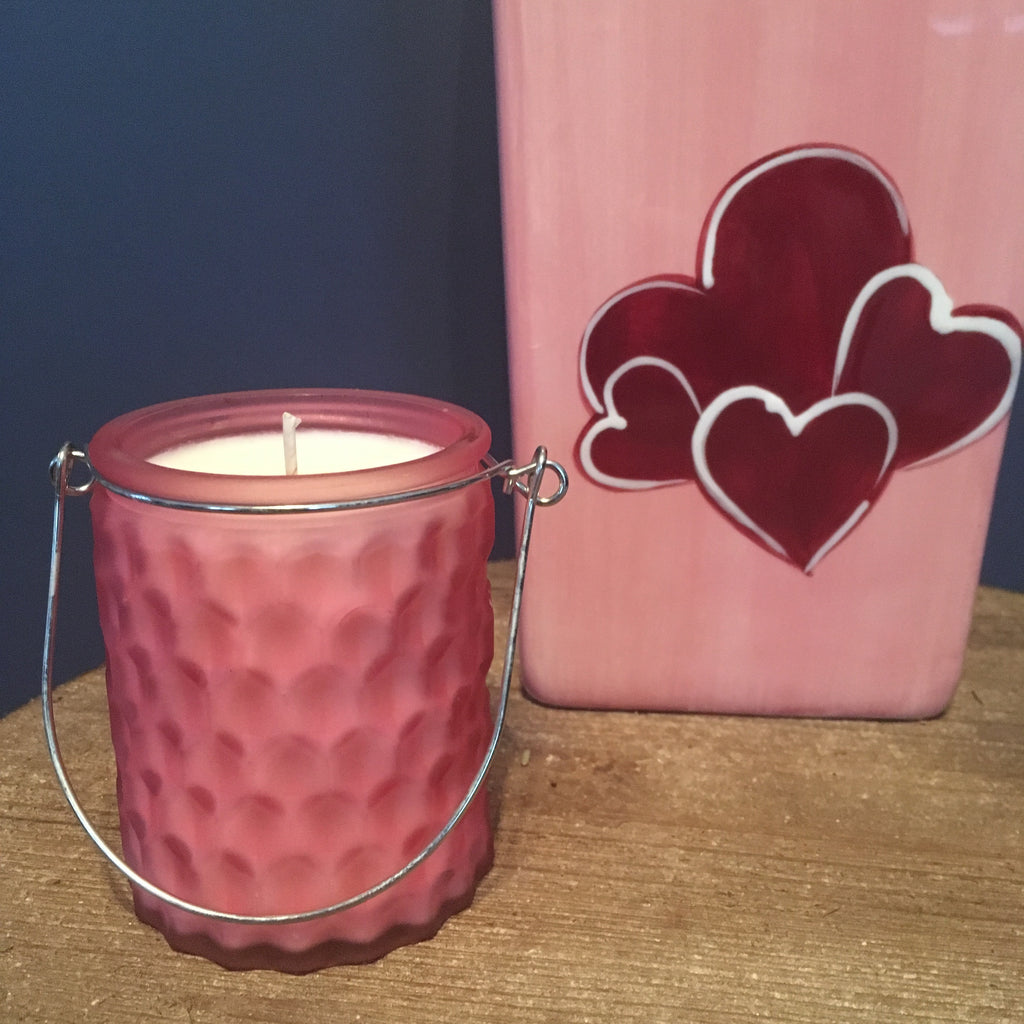 PINK PUFFY HANDLE - Jamcat Candles
