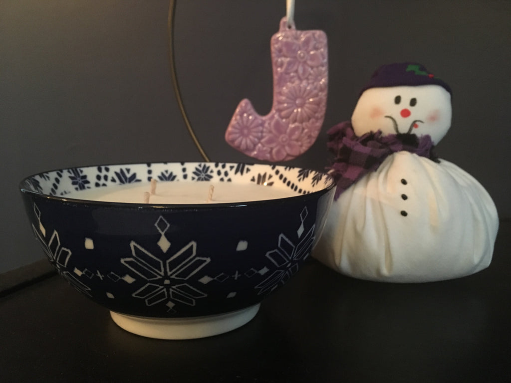 SNOWFLAKE BOWL - Jamcat Candles