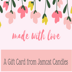 GIFT CARD - Jamcat Candles