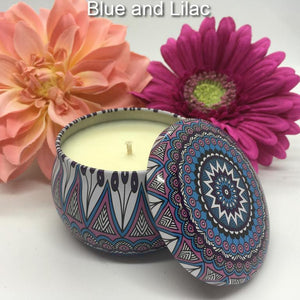 SNAZZY TINS - Jamcat Candles