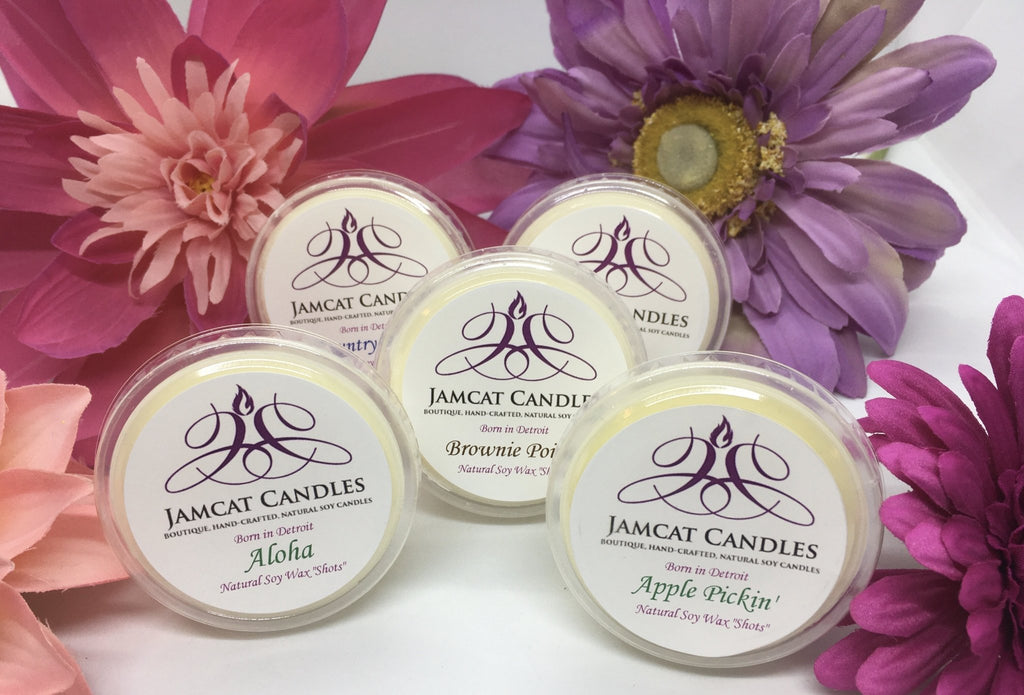WAX SHOTS - Jamcat Candles
