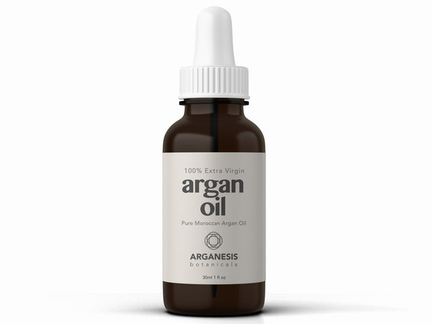 Extra Virgin Moroccan Argan Oil For Skin and Hair (1oz/30ml) - Arganesis