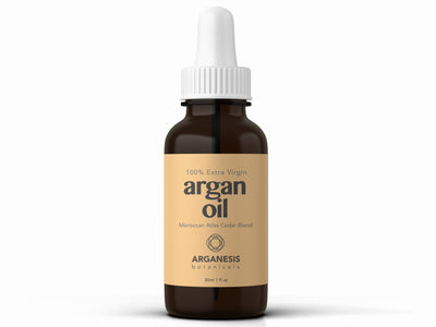 Extra Virgin Moroccan Argan oil & Atlas Cedarwood Essential Oil (1oz/30ml) - Arganesis