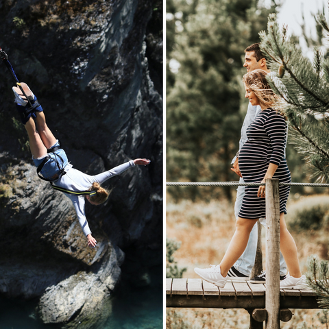 why becoming a new mum is like bungee jumping