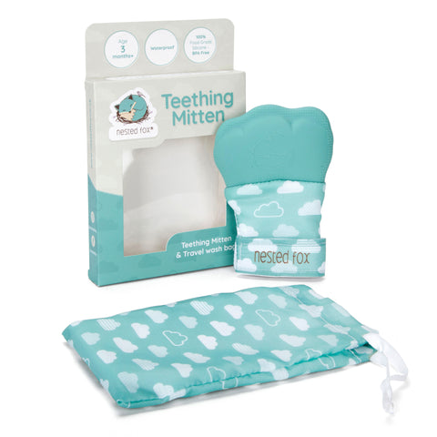 Waterproof Teething Mitten - Nested Fox
