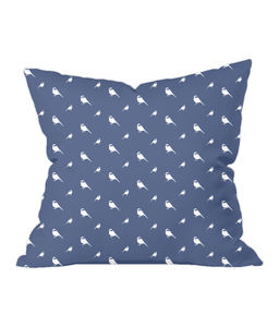 Nursery Throw Cushion - Chickadees - Various Colours Available