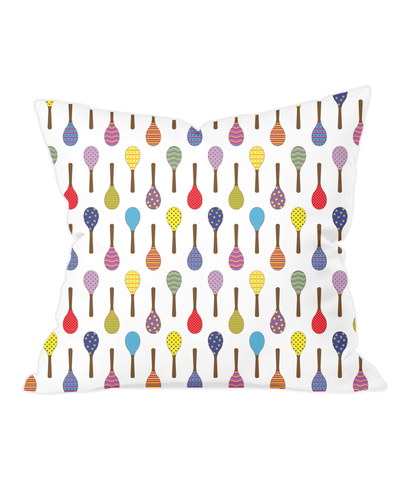 Nursery Throw Cushion - Maracas - Various Colours Available