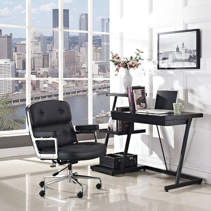 Replica Eames Executive Work Chair, Black