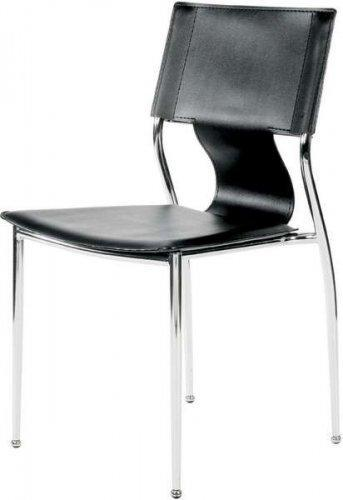 Modern Design Stacking Chair in White (Set of 6)