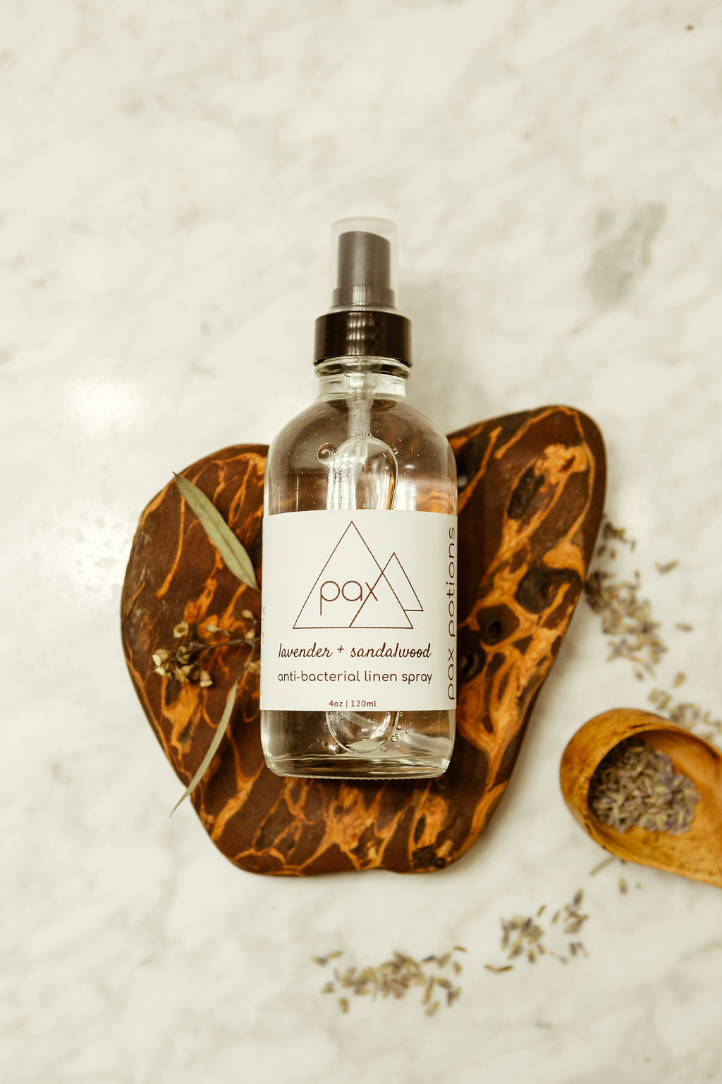 Lavender + Sandalwood Linen Spray
