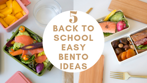 5 Easy Back to School Bento Lunch Ideas