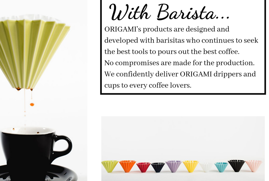Sikura Origami Tools Made for Coffee Lovers