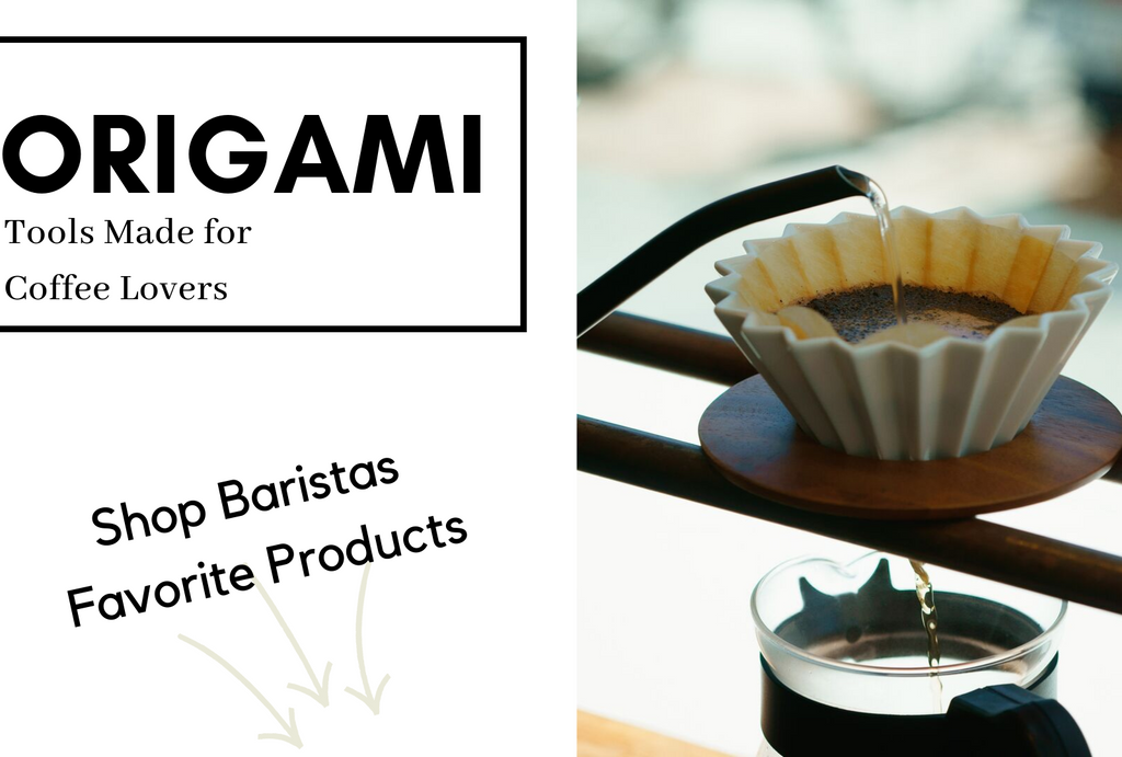 Sikura Origami Tools for Baristas to help make the best tasting coffee!