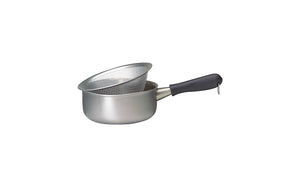 Sori Yanagi Stainless Aluminum 3 Layer Saucepan - Matte Finish - Dishwasher Safe - Made in Japan - 18-8 stainless steel for corrosion resistance - Aluminum for heat conductivity