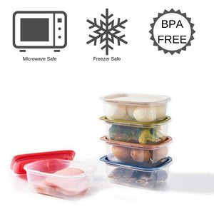 SIKURA Original Direct-to-Microwave Container 5-Piece Set
