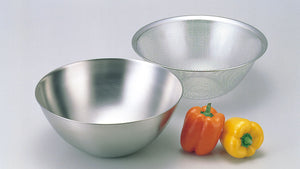 Sori Yanagi Stainless Bowl & Punched Strainer 2pcs Set 10.6""