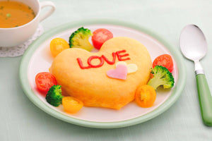 Heart Omelette Pan - Red