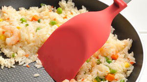 Scoopable Spatula - Red