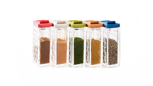 SIKURA Original Spice Bottle 10-Piece Set