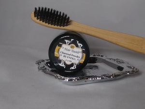 Eco Brush and Noir Tooth | Bamboo Toothbrush by Eneka Elements