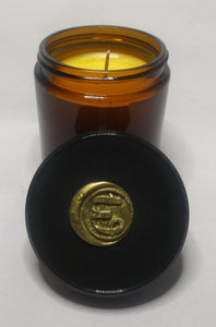 Cocoa Honey Beeswax Candle by Eneka Elements