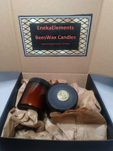 Cocoa Honey Beeswax Candle Gift Box by Eneka Elements