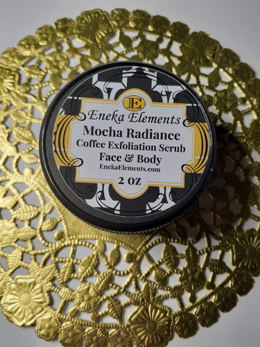 Mocha Radiance | Coffee Exfoliation Scrub | Face & Body