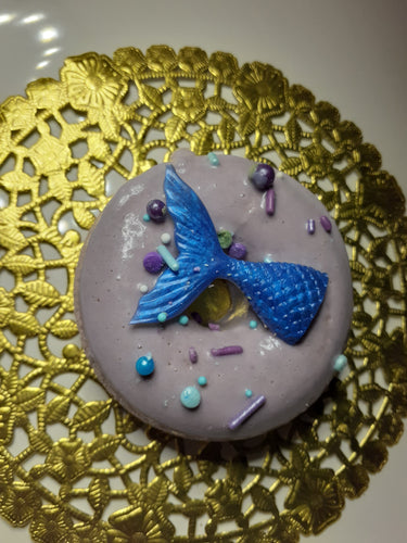 Mermaid Donut by Eneka Elements with Purple Brazilian Clay