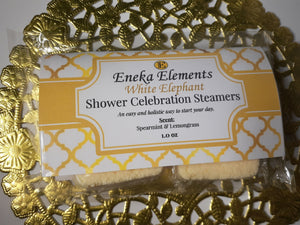 White Elephant Shower Celebration Steamers by Eneka Elements