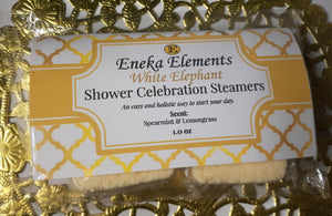 White Elephant | SHOWER CELEBRATION TABLETS | SHOWER STEAMERS