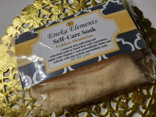 Golden Memories| Self-Care Soak| Gift & Stocking Stuffer