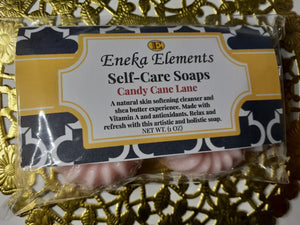 Candy Cane Lane Shea Soap by Eneka Elements