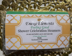 Feeling Good Shower Celebration Steamer by Eneka Elements