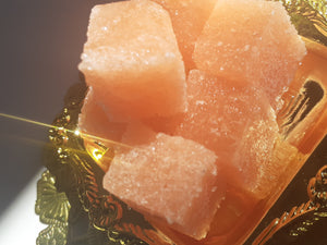 Shower Sugar in Citrus Candy by Eneka Elements Shower exfoliation cubes