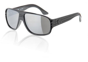 Gatorz Black Iridium Round Sunglasses