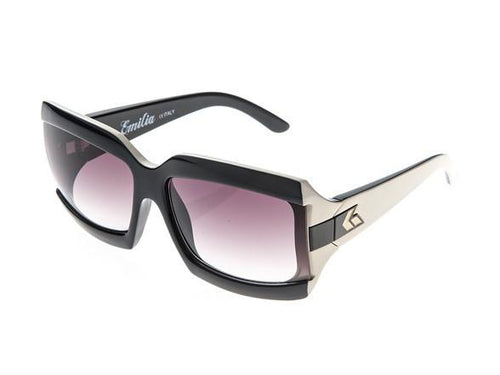 Gatorz Emilia Black Purple Frame Purple Fade Lens Sunglasses