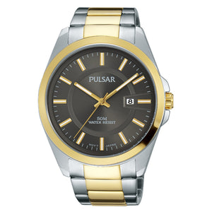 Men's Business Collection Two Tone with Gray Dial