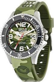 Sector Mens Analog Display Quartz Multi-Color Watch