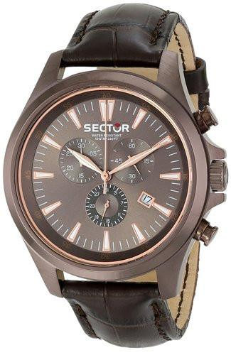 Sector Mens Contemporary 290 Analog Display Quartz Brown Watch