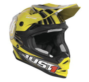 Just1 J32 Raptor Helmet; Yellow; S