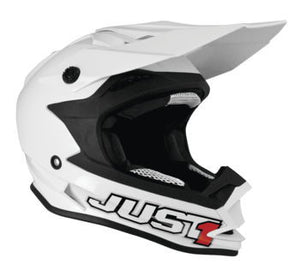 Just1 J32 Solid Helmet; Gloss White; 2XL