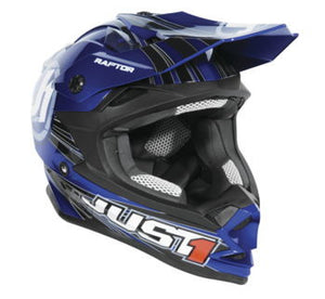 Just1 Youth J32 Raptor Helmet; Blue; Youth M
