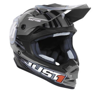 Just1 J32 Raptor Helmet; Grey; XL