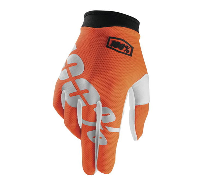 100% Youth iTrack Gloves; Cal-Trans; YL
