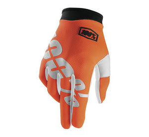100% Men's iTrack Gloves; Cal-Trans; XL