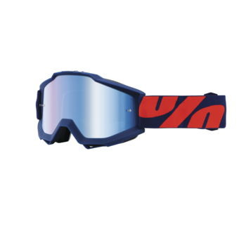 100% Accuri Goggles; Raleigh w/Blue Lens