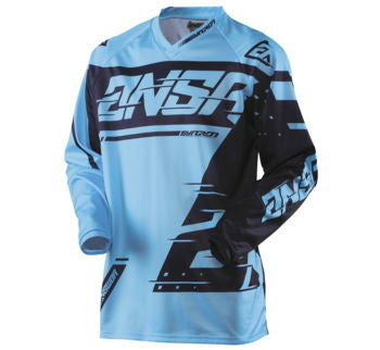 Answer Jersey Syncron 18 Cyan / Navy L 472698